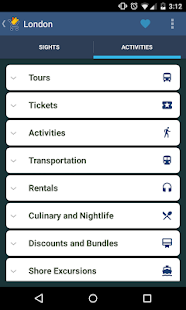 Tours & Activities- screenshot thumbnail