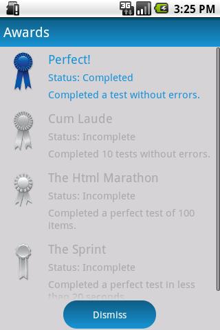 Html Class- screenshot
