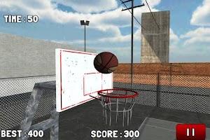 Screenshot of BasketBall Hoops Free 2