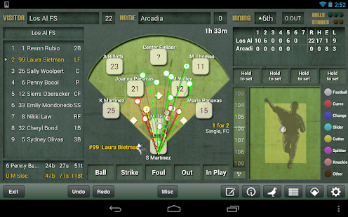 iScore Baseball/Softball - screenshot thumbnail