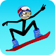 Stickman Snowboarder icon
