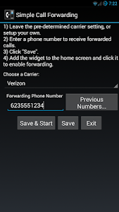 Simple Call Forwarding v1.8.5.2