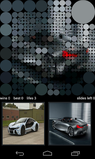 BMW Vision Guess Pictures Game