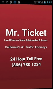 Mr. Ticket Traffic Attorney - screenshot thumbnail
