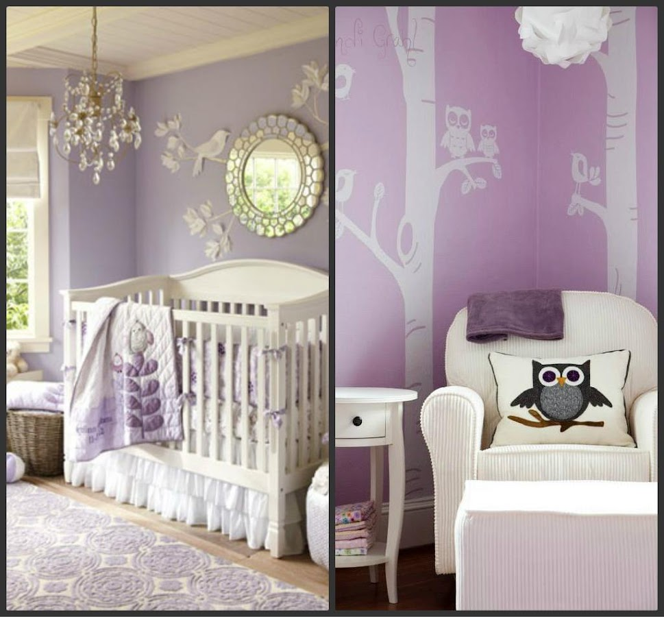 purple baby room ideas - android apps on google play