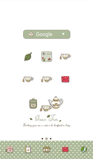 green tea dodol theme