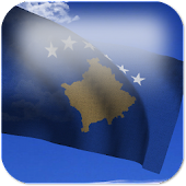 3D Kosovo Flag Live Wallpaper+