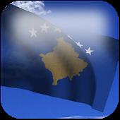 3D Kosovo Flag Live Wallpaper+