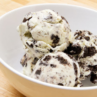 Mint Oreo Ice Cream.