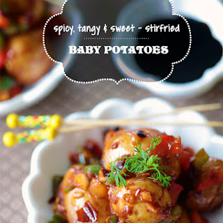 Baby Potatoes make Perfect Appetizers.