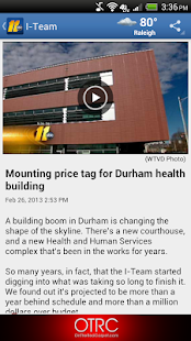 ABC11 Raleigh-Durham - screenshot thumbnail