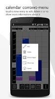 Screenshot of TimeTracker - chronology