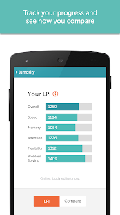 Lumosity - screenshot thumbnail