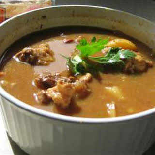 African-Style Oxtail Stew.