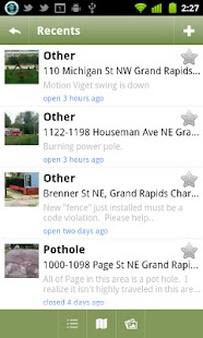 Grand Rapids 311- screenshot thumbnail