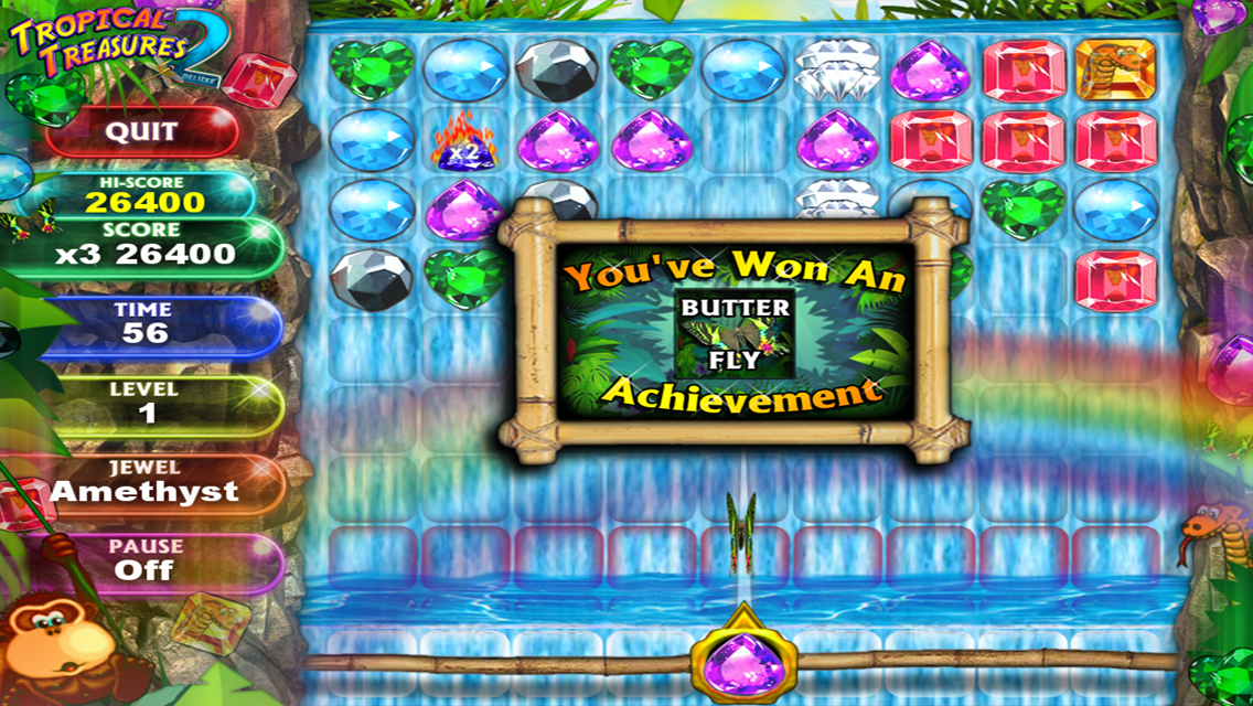 Tropical Treasure Gems 2 PAID- screenshot