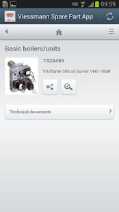 Viessmann Spare Part App - screenshot thumbnail