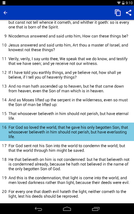 Bible (Offline, Multi-Version)- screenshot