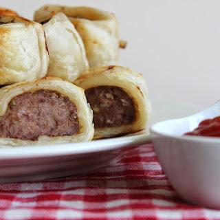 Beef Sausage Rolls.