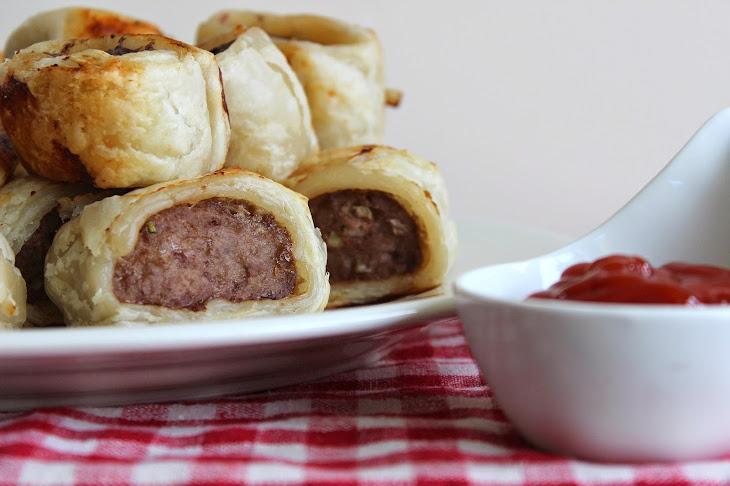 Beef Sausage Rolls Recipe