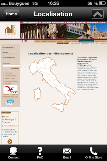 【免費旅遊App】Italia Sixtina voyages-APP點子