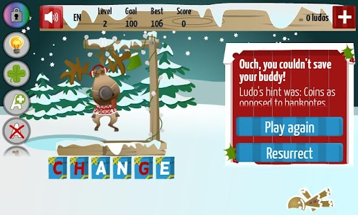 Christmas Hangman Deluxe - screenshot thumbnail