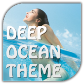 Deep Ocean Go Launcher theme