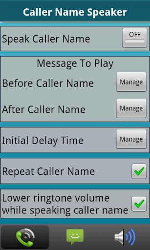 Caller Name Speaker :Announcer