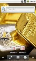 Screenshot of Gold bar Wallpaper
