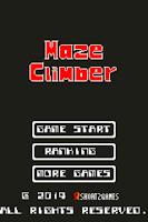 Screenshot of MazeClimber