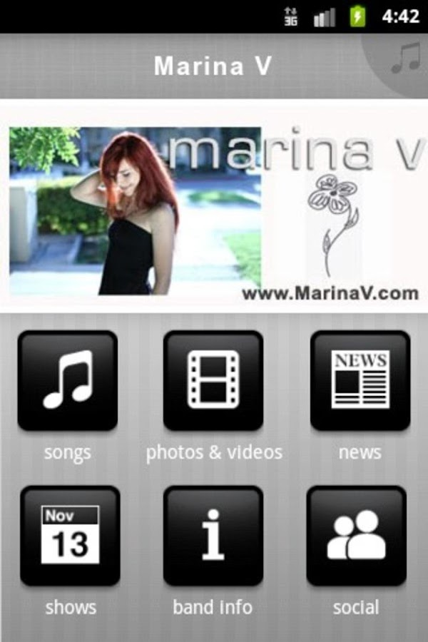 Marina V - screenshot