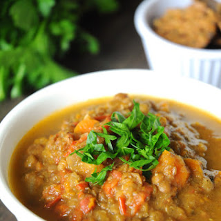Lentil Soup with Cumin & Coriander