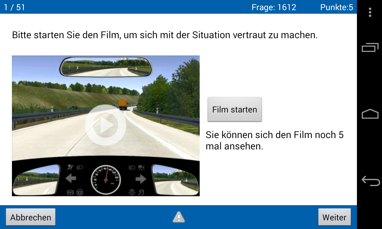 360° online – Die App- screenshot