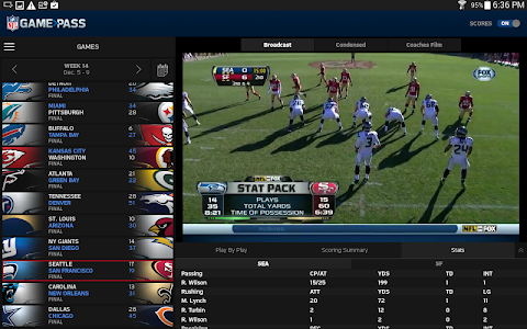 NFL Game Pass screenshot 7