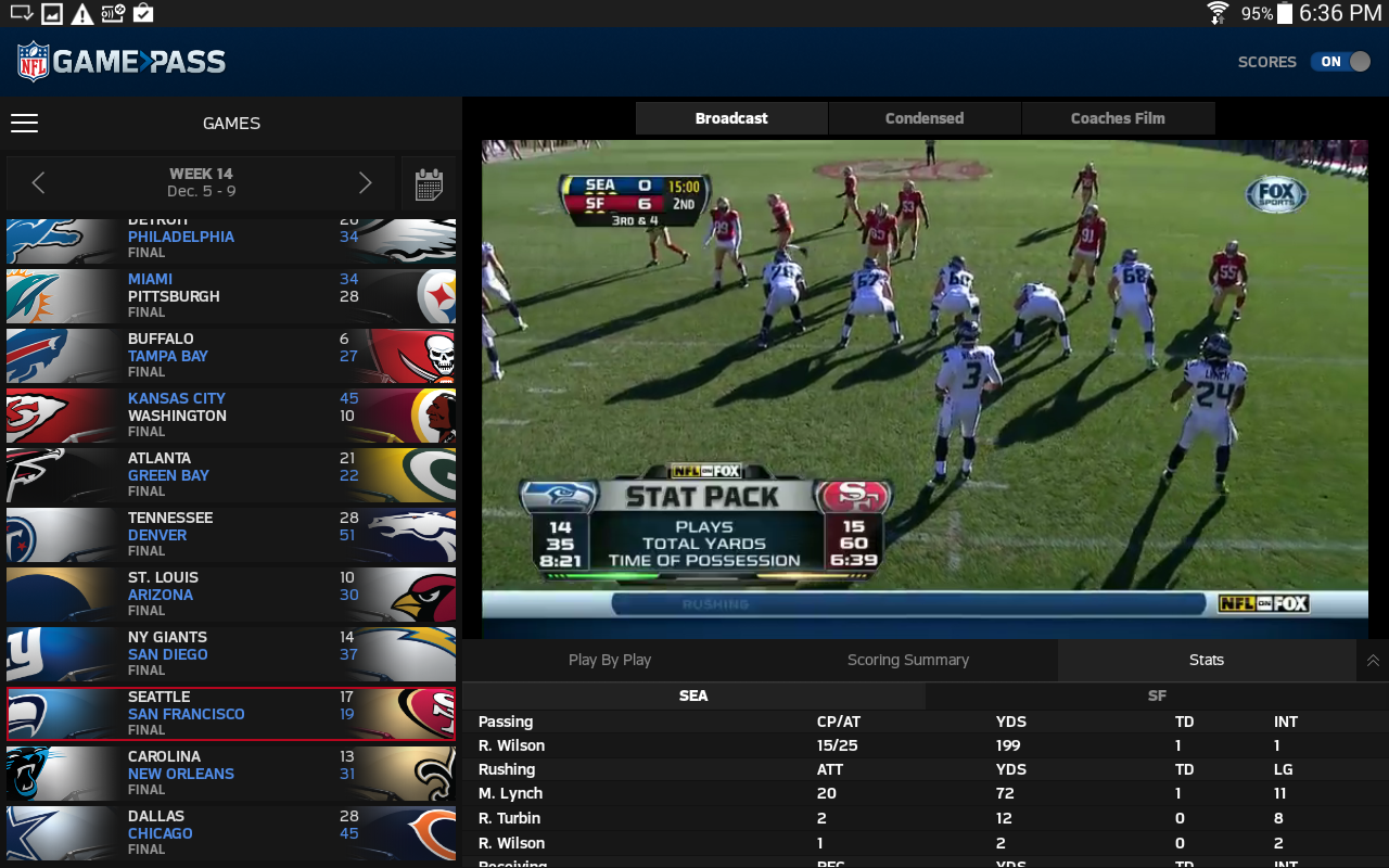 NFL Game Pass- screenshot