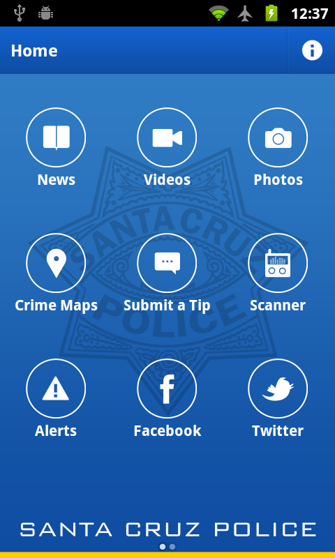 Santa Cruz Police- screenshot