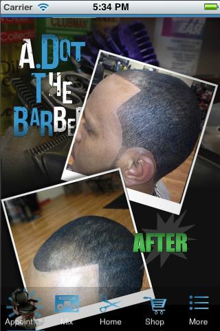 Adot The Barber Cuts by Adot