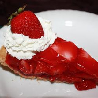 Strawberry Glazed Pie.