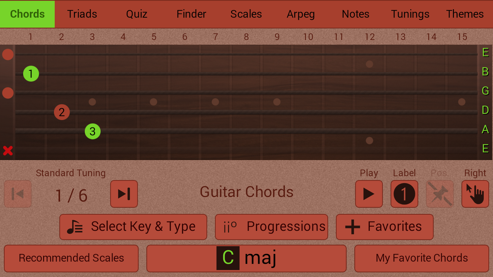 Guitarist's Reference- screenshot