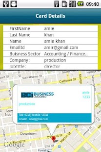 Business Cards Info (BCI) - screenshot thumbnail