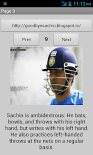 Thank You Sachin - screenshot thumbnail