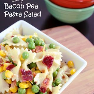 Bow Tie Pasta Salad With Peas Recipes.