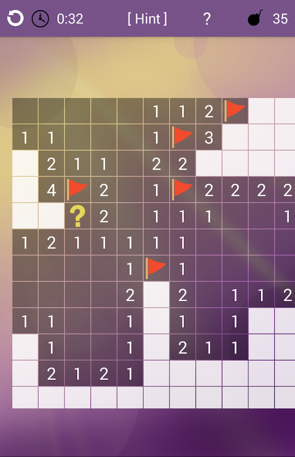 Minesweeper Puzzle- screenshot