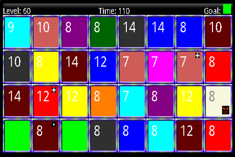 Colored Squares - screenshot
