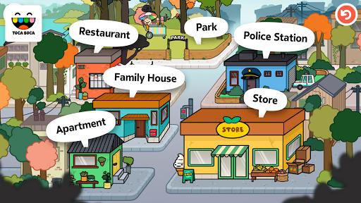 Toca Life: Town Aplicaciones para Android screenshot