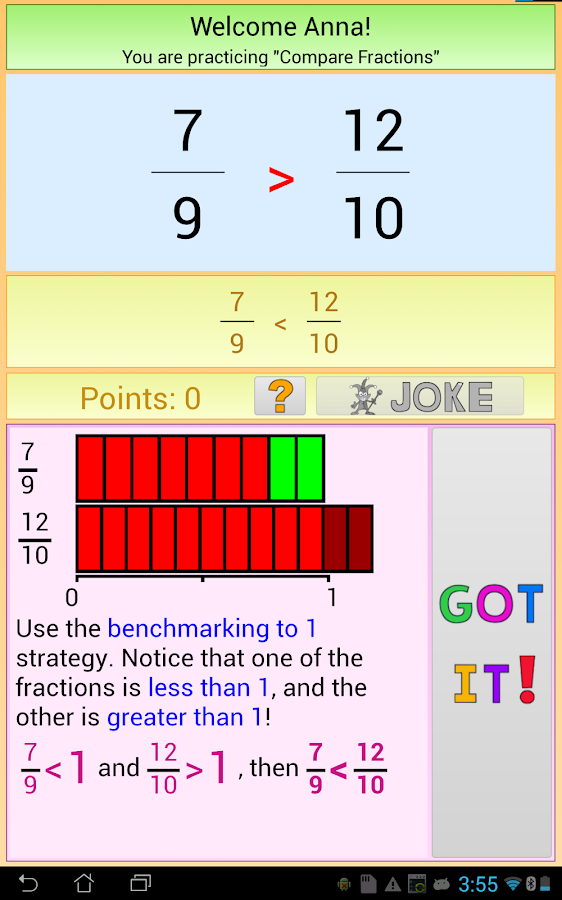 Math Skill Builder- screenshot