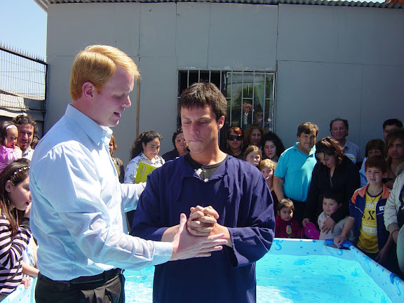 Baptism Sunday in Chile