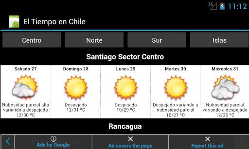 El Tiempo en Chile