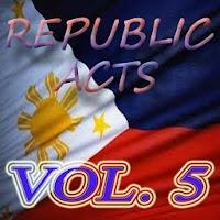 Philippine Laws - Vol. 5 1.0