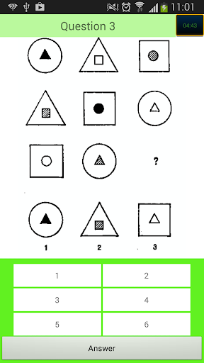 Quick IQ Brain test